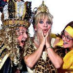 Hoofdrolspelers van de komische RTL-serie 'De Contessa van Renesse.'