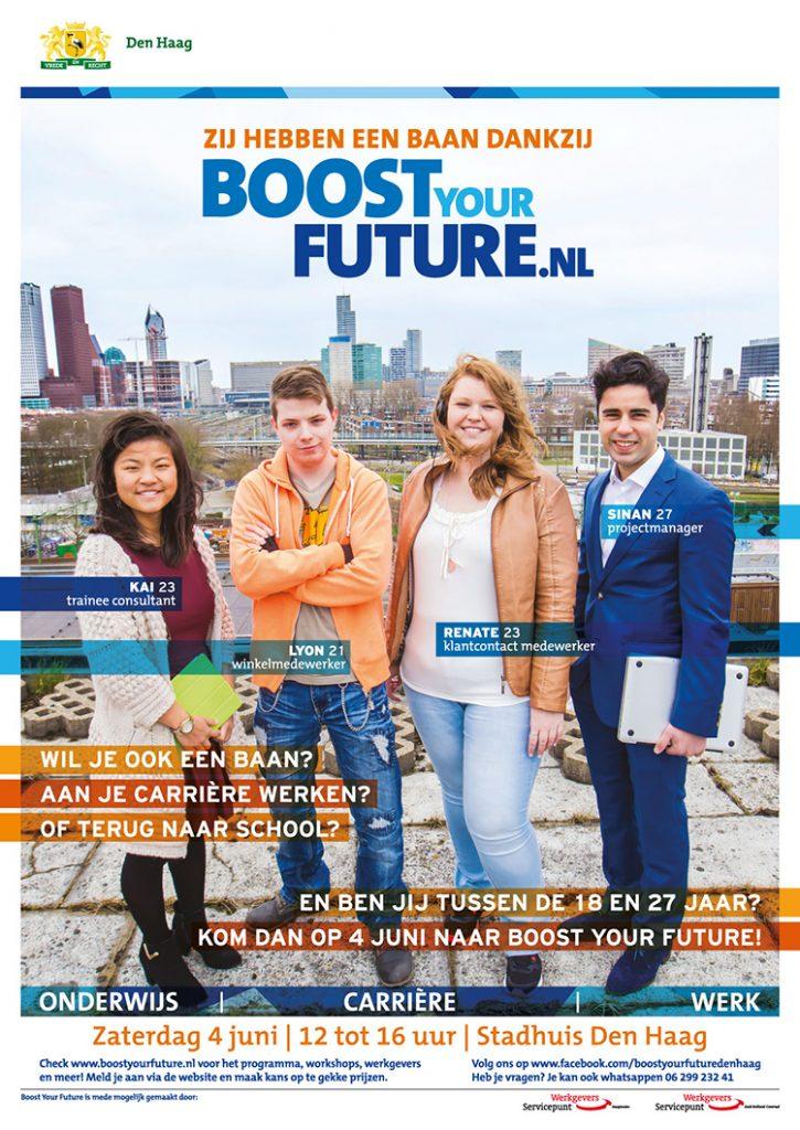 Boost your future carrièrebeurs banenmarkt 125procent